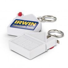 House Tape Measure Key Ring 100306