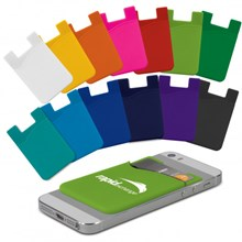 Silicone Phone Wallet - Indent 112928