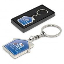 House Metal Key Ring 100322