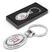 Spinning Metal Key Ring 100318