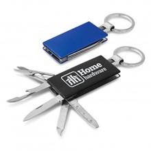 Multi-function Metal Key Ring 107108
