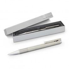 Lamy Logo Pen - Brushed Steel 113795