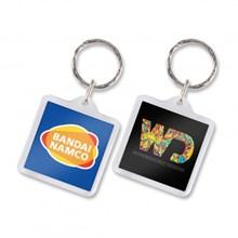 Lens Key Ring - Square 100294