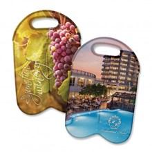 Neoprene Double Wine Cooler Bag - Full Colour 110499