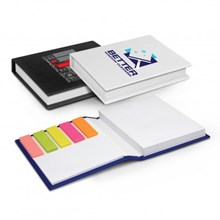 Hard Cover Notes and Flags 100926