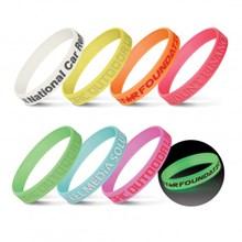 Silicone Wrist Band - Glow in the Dark 112807