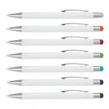 Lancer Stylus Pen - White Barrel 117120
