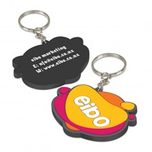 PVC Key Ring Small - One Side Moulded 107109