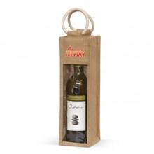 Serena Jute Wine Carrier 108039