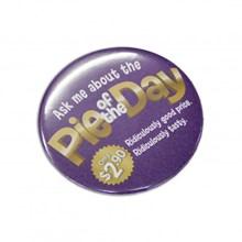 Button Badge Round - 75mm 104781