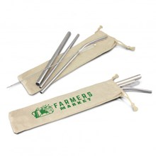 Stainless Steel Straw Set 116751