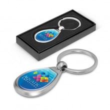 Drop Metal Key Ring 100324