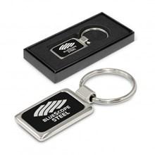 Laser Etch Metal Key Ring 104177