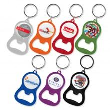 Chevron Bottle Opener Key Ring 107106