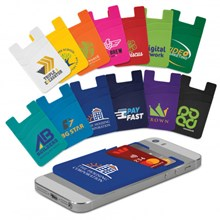 Dual Silicone Phone Wallet 118530