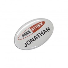 Button Badge Oval - 65 x 45mm 104784