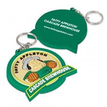 PVC Key Ring Large - One Side Moulded 117205