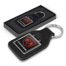 Baron Leather Key Ring - Square 108597
