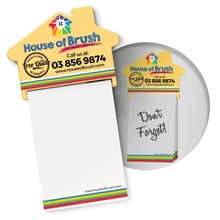 Magnetic House Memo Pad A7 - Full Colour 113367