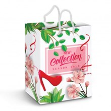 Large Laminated Paper Carry Bag - Full Colour 116941