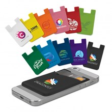 Silicone Phone Wallet 107627