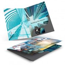A4 Presentation Folder with Spine 120423