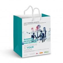 """Medium Laminated Paper Carry Bag aEUR"""" Full Colour 116936"""