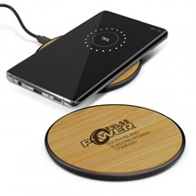 Bamboo Wireless Charger 116765